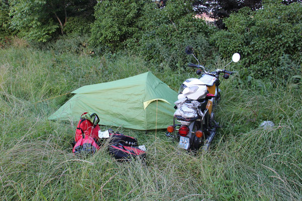 Wildcamping bei Roeselare