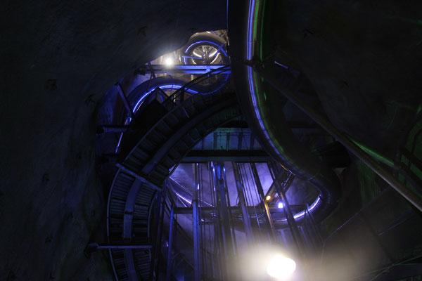 Längste Untergrund-Rutsche der Welt