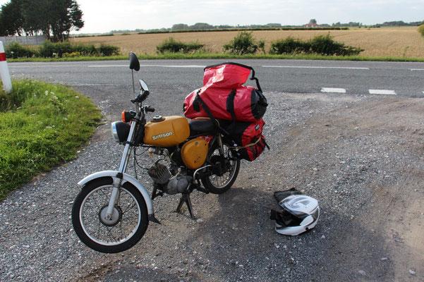 Moped geht ständig wieder aus
