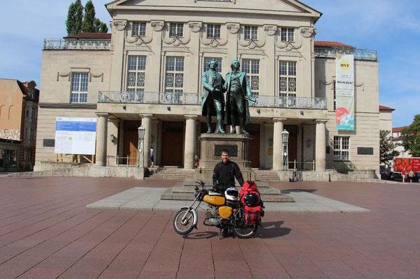 Geothe-Schiller-Denkmal in Weimar