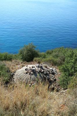 Bunker am Gjipie-Beach, Albanien