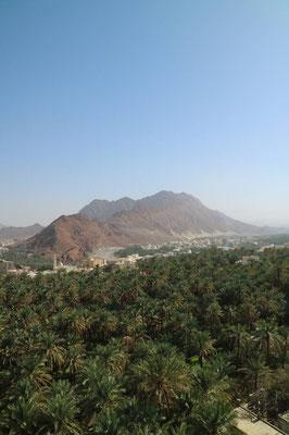 Aussicht vom Fanja Fort, Oman