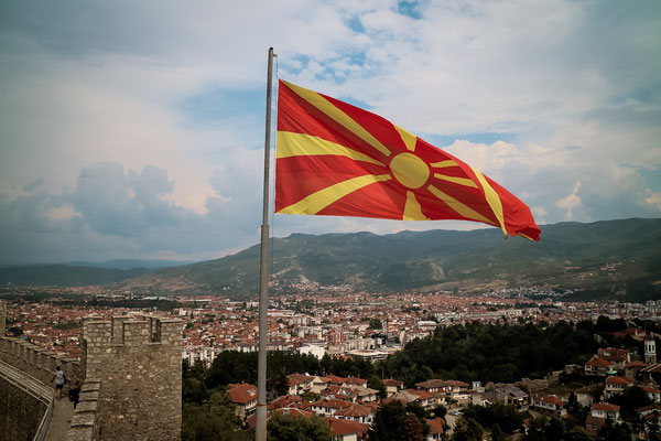 Samoils Festung/ Ohrid