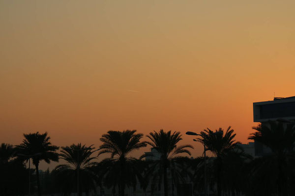 Sonnenuntergang Muscat