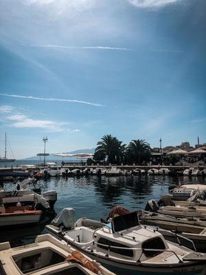 Saranda Hafen, Albanien