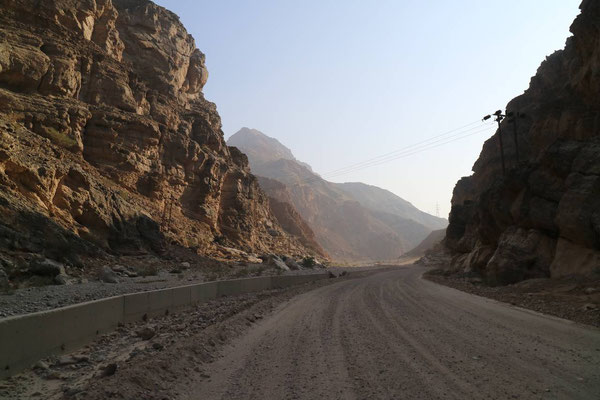 On the Road, Oman