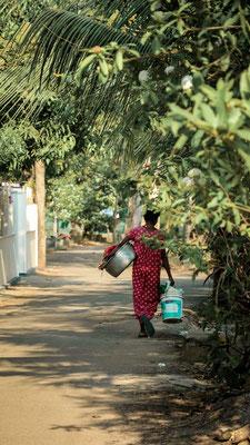 Streets of Kumarakom