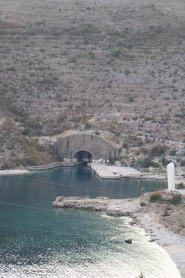 U-Boot Hafen Porto Palermo, Albanien