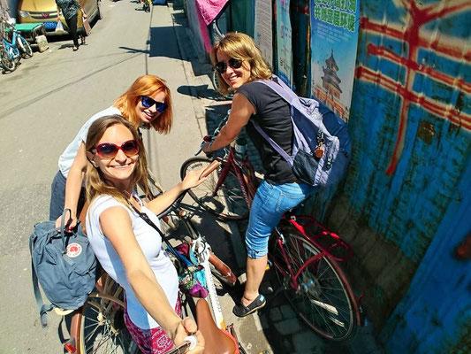Fahrradtour durch die Hutongs in Peking