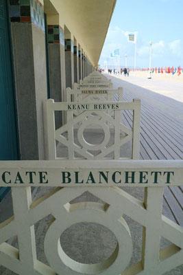 Strandpromenade von Deauville