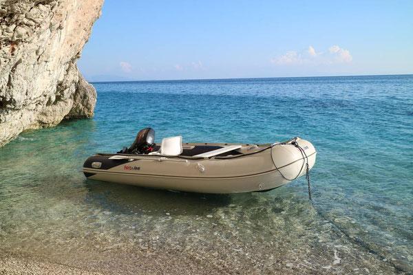 Gjipie-Beach, Albanien