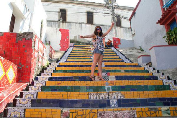 Escadaria de Selarón, Rio de Janeiro