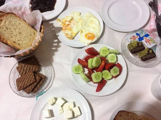 Frühstück Rooms Emiliano, Kruja