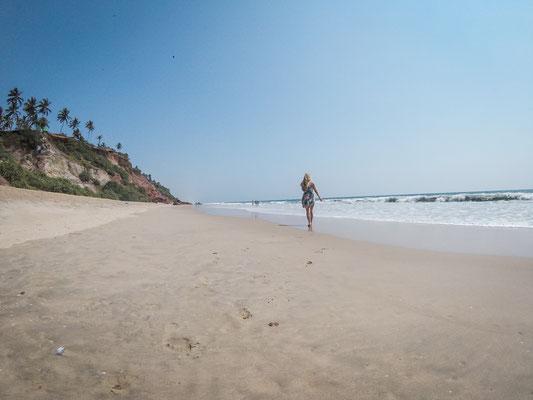 Varkala Beach, Indien