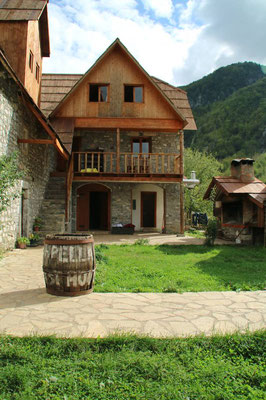 Guesthouse Shpella Theth, Albanien