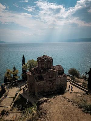 Kirche des heiligen Johann von Kaneo/ Ohrid