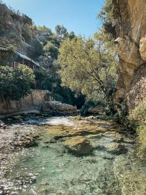 Las Fuentas del Algar, Spanien