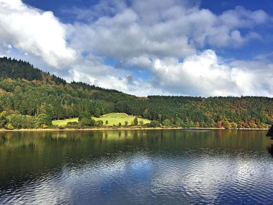 Wasserlandroute Obersee, Einruhr