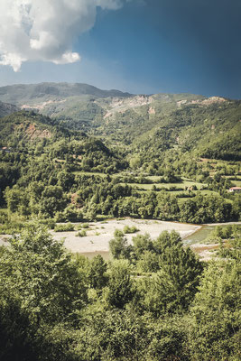 Landschaft Albanien