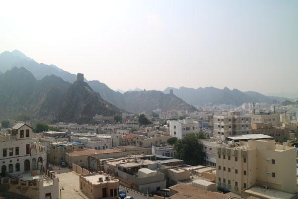 Aussicht über Mutrah, Muscat