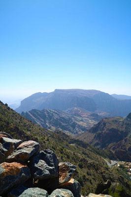 Aussichtspunkt Jebel Akhdar, Oman