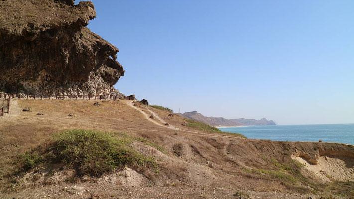 Mughsail-Fontäne, Oman