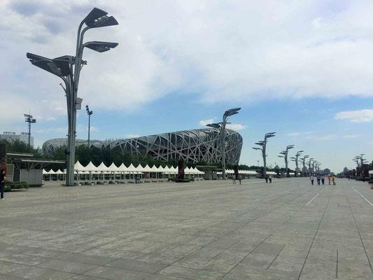Olympic Green und Olympiastadion, Peking