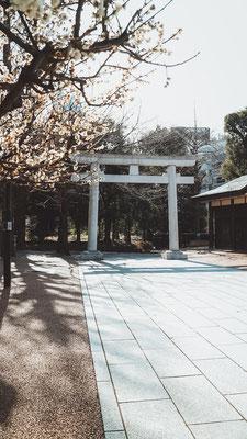 Shinjuku Juniso Kumano Schrein
