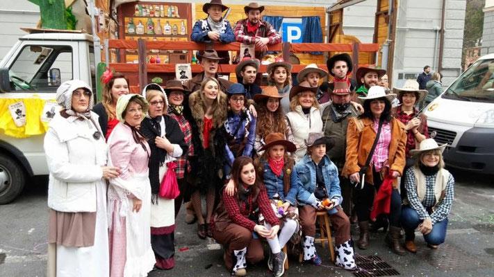Gruppo Giovani - festa carnevale 2016