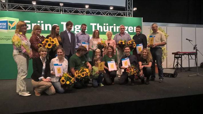 Alle Preisträger des Thüringer Bio-Preis