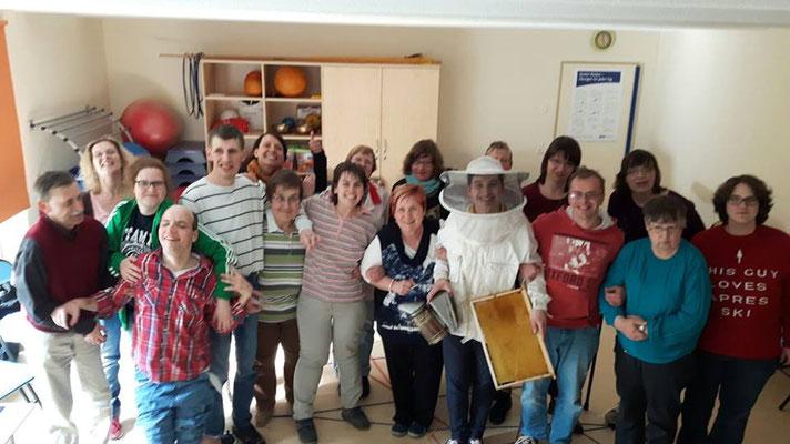 Vortrag bei der Lebenshilfe in Gera