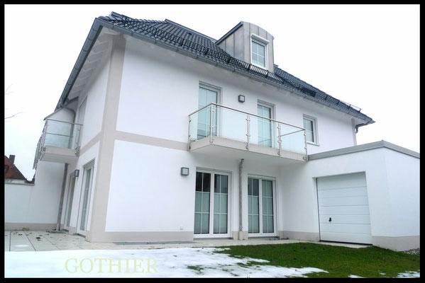 Modernes Stadthaus in Münchner Waldtrudering