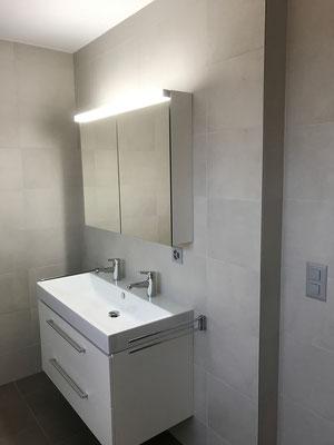 WC Badezimmer Wand Bodenbeläge aus Keramik Amriswil