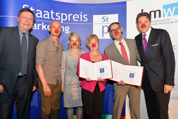 Sonderpreis Dialogmarketing: ROTE NASEN Clowndoctors