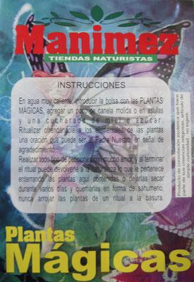MANIMEZ PLANTAS MAGICAS