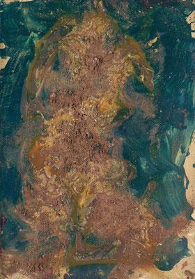 FRANZ GRABMAYR, Tanz, Entstehungszeitraum 1986-1993, Öl auf Karton, 103x72,5cm