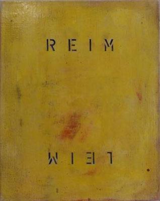 MICHAEL ENDLICHER, Reim-Leim, Öl / Leinwand, 50x40cm