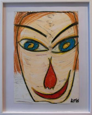 """ANITA MÜNZ, aus der Serie """"Befreiungsbilder"""", Zeichnung, 2020"""