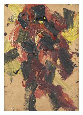FRANZ GRABMAYR, Tanz, Entstehungszeitraum 1986-1993, Öl auf Karton, 108x76cm