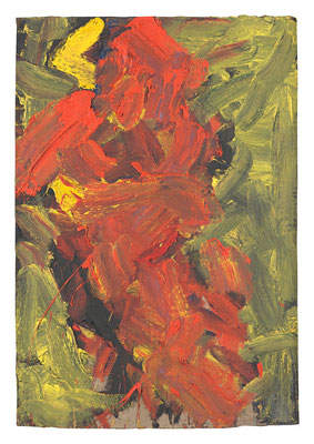 FRANZ GRABMAYR, Tanz, Entstehungszeitraum 1986-1993, Öl auf Karton, 103x71cm
