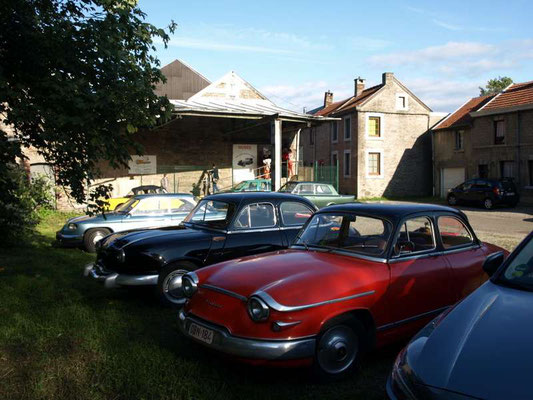 Visite du musée automobile de Nessonvaux