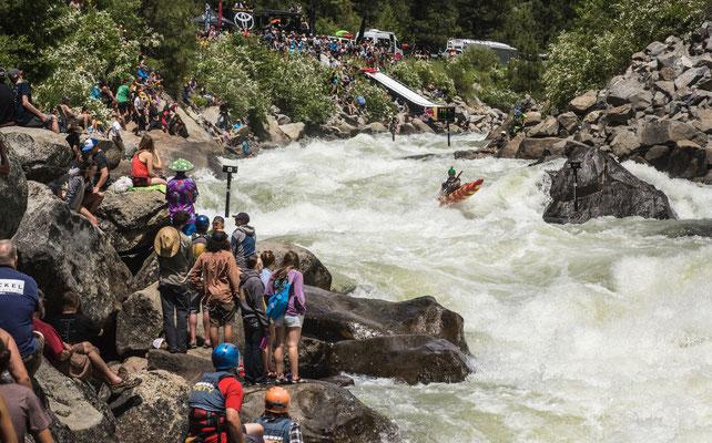 The North Fork Championship. Kayak race Banks, Idaho. Regan Byrd. Kayak Racing Pacific Northwest. Women Kayakers.