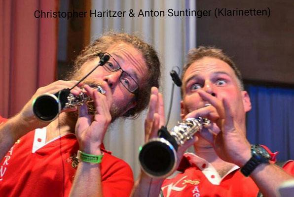 Christopher Haritzer (Klarinette), Anton Suntinger (Klarinette)