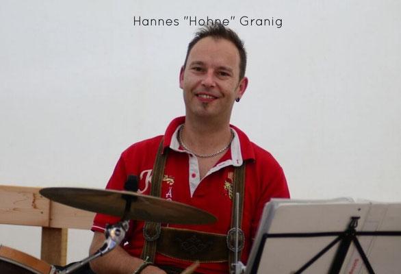 """Hannes """"Hohne"""" Granig (Schlagzeug)"""