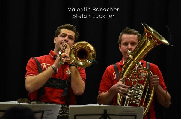 Valentin Ronacher (Tenorhorn, Posaune) & Stefan Lackner (Tenorhorn)