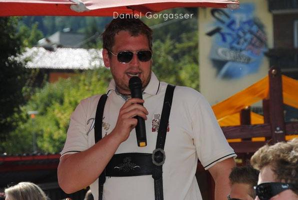 Daniel Gorgasser, Obmann, Tontechnik