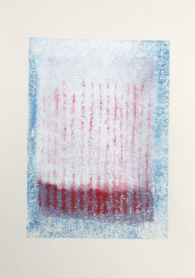 o.T., 2015/2016, Linoldruck auf Papier, 21x29,7cm