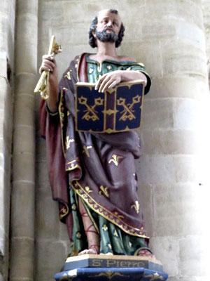 Statue de Saint Pierre (XVIIIè s)