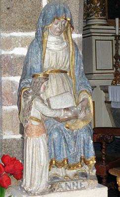 Sainte Anne Education à la Vierge