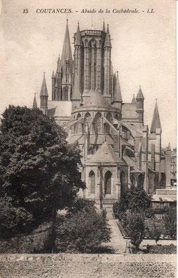 l'abside de la cathédrale